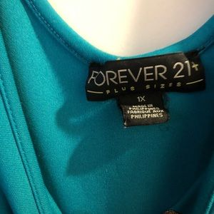 Forever 21 Dresses - Forever 21 Teal Fit and Flare